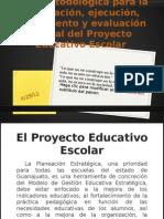 Guía metodológica para el PEE