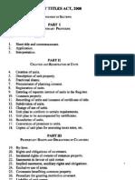 16-2008 the Unit Titles Act, Cap. 416 (1)