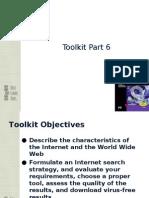 Toolkit 6