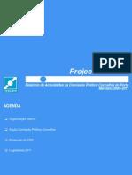 Relatório de Actividades da Comissão Política Concelhia do Porto
