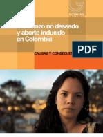 Embarazo No Deseado Colombia
