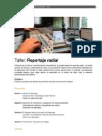 2012_Taller Reportaje Radial