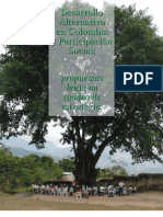 Resumen Desarrollo Alternativo y Participacion Social en Colombia
