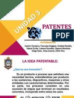 Unidad 3 Patente