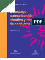 Liderazgo Comunicacion y Resolucion de Conflictos