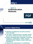Security(Authentication Methods)