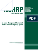 NCHRP Report 632 Asset Management Framework