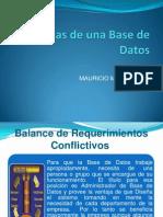 Ventajas de Una Base de Datos MAURY