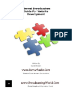 Internet Broadcaster Website Development Guide