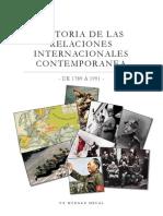 Historia de Las Relaciones Internacionales Contemporanea