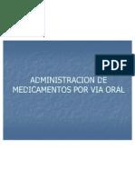 Adm Medic via Oral y Sub Lingual