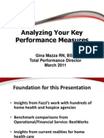 Analyzing Your Key Performance Measures