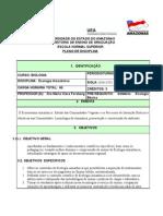 Plano e Programa EcoAmaz2011