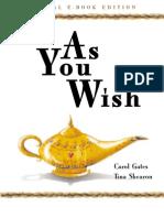 As You Wish - Bob Proctor
