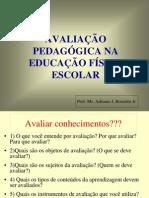 Avaliacao Pedagogic A Educacao Fisica Escolar