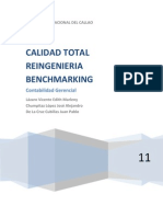 Calidad Total Reingenieria Bench Marking