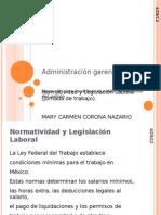 Normatividad y Legislatividad Laboral - Copia