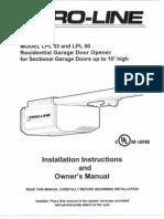 Lynx 455/lpl manual