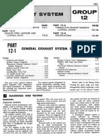 1967 mustang vacuum diagram manual · group 1 identification  group 1  identification · group 12 exhaust system