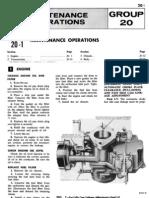 Group 20 Maintenance Operations