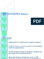 Ms Windows Basics - Yar