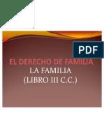 El Derecho de Familia