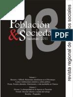 POBLACIÓN y SOCIEDAD 18