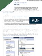 Générer du code à partir des diagrammes de classes UML