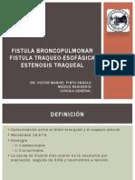 Fistula Broncopulmonar Terapia