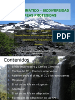 Cambio Climático, Biodiversidad y Áreas Protegidas
