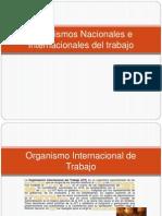 Organismos Nacionales e Internacionales Del Trabajo