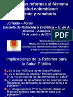 Presentación_Foro Nutrición y Dietética_Octubre 19 de 2011