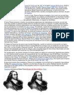 Biografia de Pascal