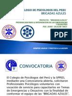 Proyecto Brigadas Azules