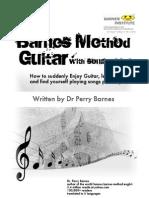 barnes method guitar illustrated