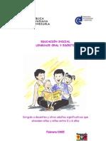 Educacion Inicial Lenguaje Oral y Escrito