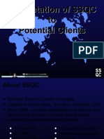 Ssqc Presentation to Potential Clients