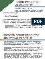 Imposto Sobre Produtos Industrializados - Ipi