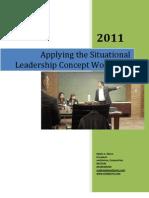 Ed Ebreo - Applying Situational Leadership Workshop