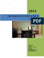 Ed Ebreo- Intro to HR for HR & Non-HR