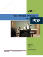 Ed Ebreo- Presentation Skills Training