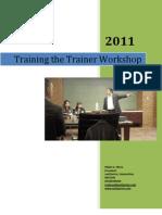 Ed Ebreo- Training the Trainer Workshop