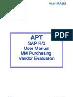 MM Purchasing - Vendor Evaluation