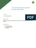 INFORME DE JUNTAS DE CONSTRUCCIÓN Y ENCUENTRO