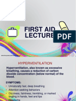 First Aid Lecture