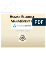Human Resource at Packages