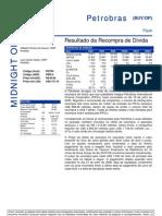 270706 - Flash News Petróleo e Gás - Petrobras - Resultado Da Recompra de Dívida