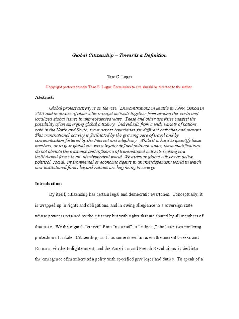 02global citizenship – towards a definition | citizenship