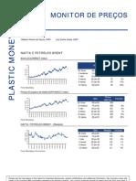 310706 - Relatório Setorial Petroquímico - Monitor de Preços - 31072006