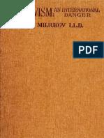 Bolshevism-An International Danger (It's Doctrine & It's Practice Through War & Revolution) [1920]